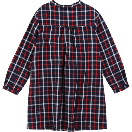 Carrement Beau Cotton Flannel Dress 10-12 Years