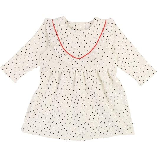 Carrement Beau Polka Dot Fleece Dress