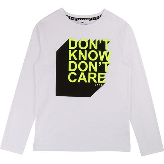 DKNY Long-Sleeved T-Shirt 10-16 Years