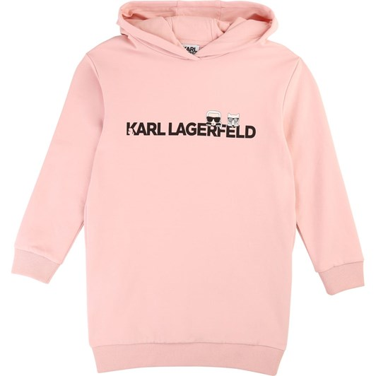 Karl Lagerfeld Long-Sleeved Jumper Dress 10-16 Years