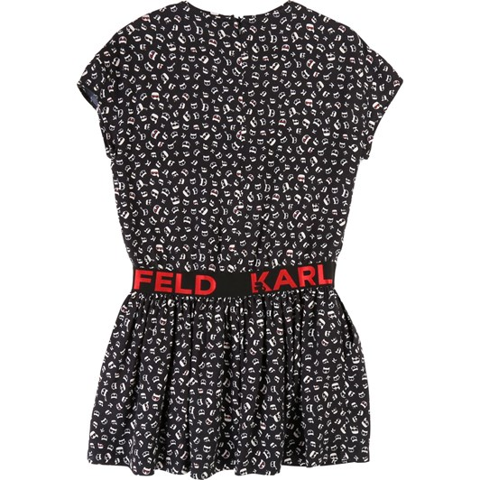 Karl Lagerfeld Short-Sleeve Printed Dress 10-16 Years