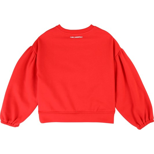 Karl Lagerfeld Long-Sleeved Sweatshirt 10-16 Years