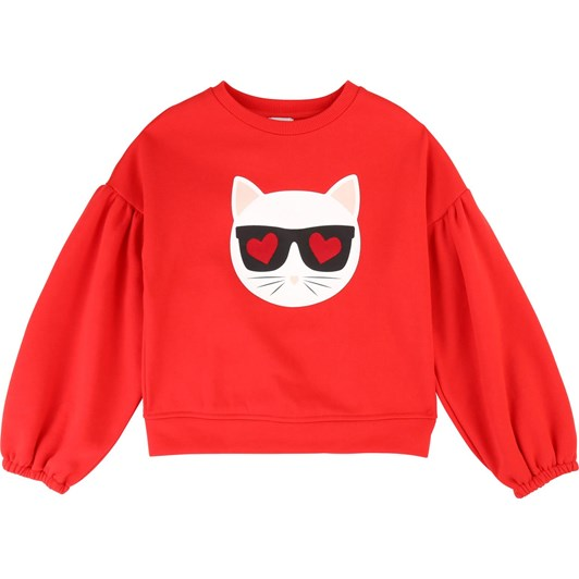 Karl Lagerfeld Long-Sleeved Sweatshirt 6-8 Years