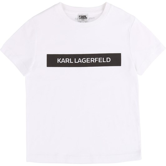 Karl Lagerfeld Short-Sleeved T-Shirt 10-16 Years