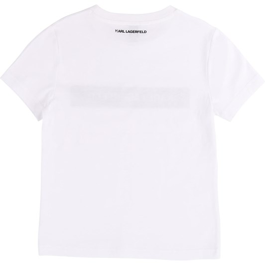 Karl Lagerfeld Short-Sleeved T-Shirt 6-8 Years