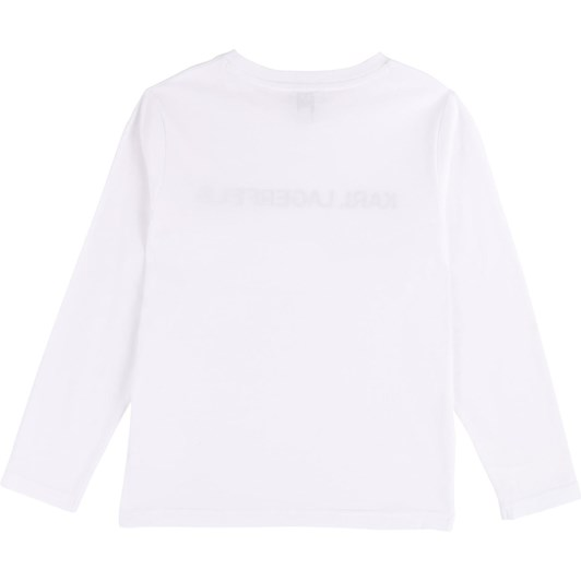 Karl Lagerfeld Long-Sleeved T-Shirt 10-16 Years