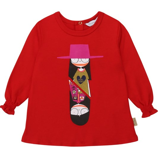 Little Marc Jacobs Cotton and Modal T-Shirt 6M-2Y