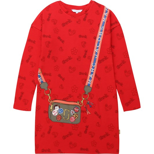 Little Marc Jacobs Milano Dress with Ruffles 3-8 Years