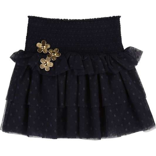 Little Marc Jacobs Dotted Swiss Party Skirt 3-8 Years