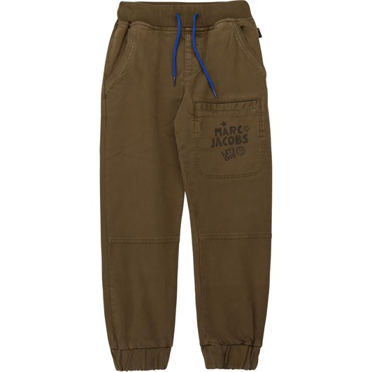Little Marc Jacobs Cargo Trousers with Print 3-8 Years