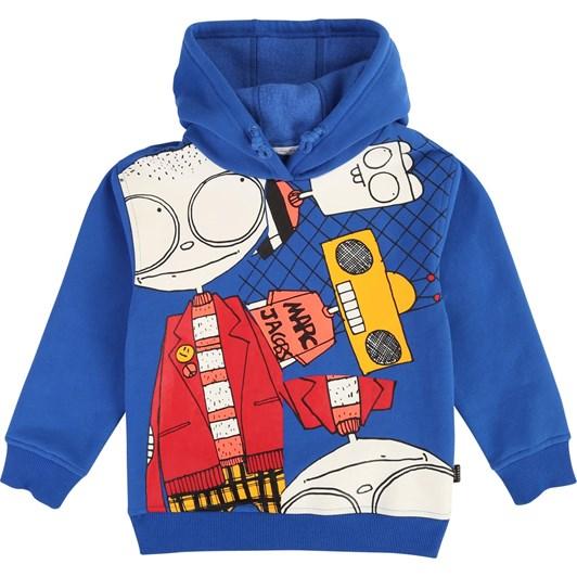 Little Marc Jacobs Hooded Print Sweatshirt 3-8 Years