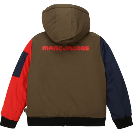 Little Marc Jacobs Fleece-Lined Hooded Jacket 3-8 Years