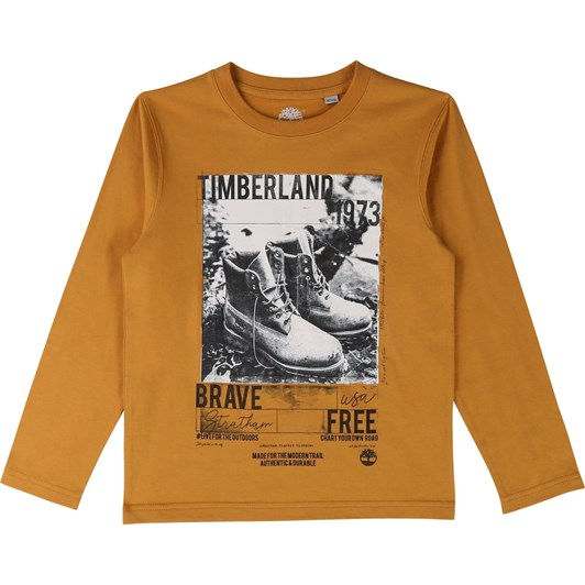 Timberland Long Sleeve T-Shirt 10-16 Years