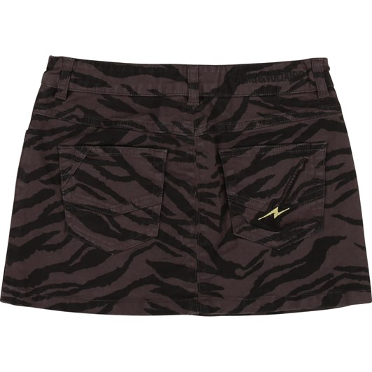 Zadig & Voltaire Short Printed Skirt 6-8 Years