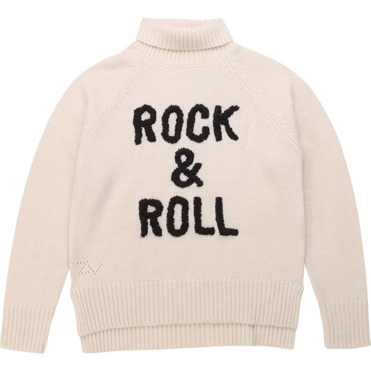 Zadig & Voltaire Embroidered Rolled-Neck Jumper 10-16 Years