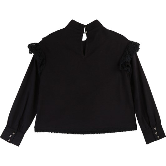 Zadig & Voltaire Cotton Voile Blouse 10-16 Years