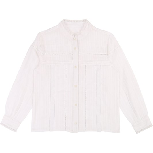 Zadig & Voltaire Cotton and Lace Blouse 10-16 Years