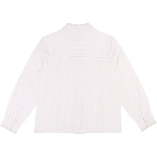 Zadig & Voltaire Cotton and Lace Blouse 6-8 Years