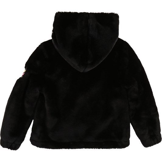 Zadig & Voltaire Hooded Faux Fur Jacket 10-16 Years