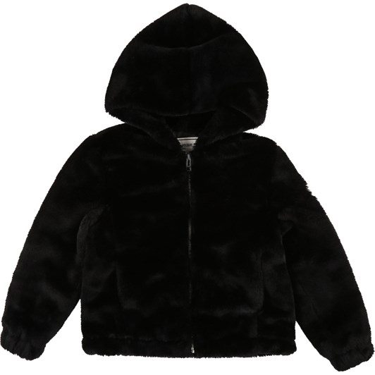 Zadig & Voltaire Hooded Faux Fur Jacket 6-8 Years