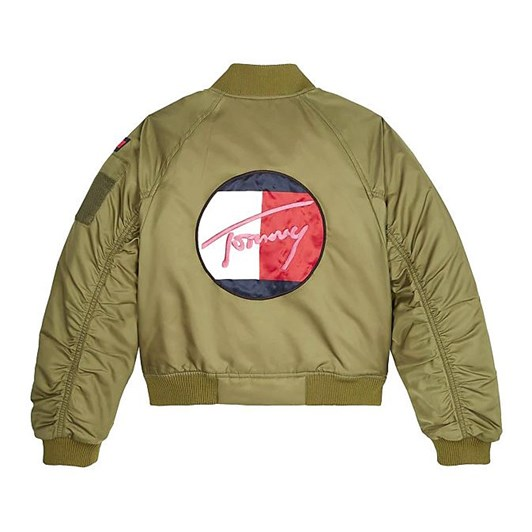 Tommy Hilfiger Stickers Utility Bomber Jacket 3-8 Years