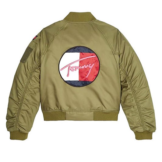 Tommy Hilfiger Stickers Utility Bomber Jacket 10-16 Years
