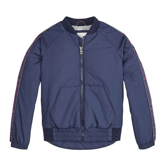 Tommy Hilfiger Essential Logo Tape Bomber Jacket 3-8 Years