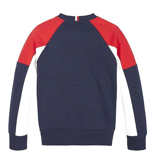 Tommy Hilfiger 1985 Logo Colour-Blocked Sweatshirt 10-16 Years