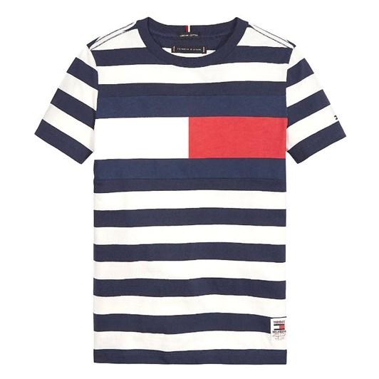 Tommy Hilfiger Organic Cotton Stripe T-Shirt 10-16 Years