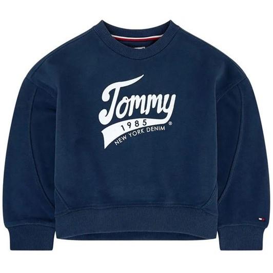 Tommy Hilfiger 1985 Logo Fleece Sweatshirt 3-8 Years