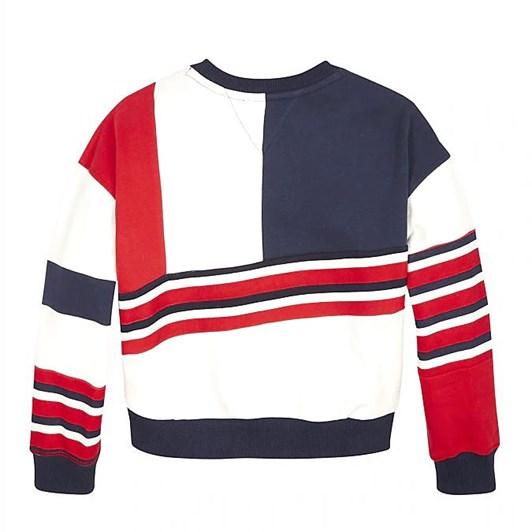 Tommy Hilfiger Colour-Blocked Sweatshirt 10-16 Years