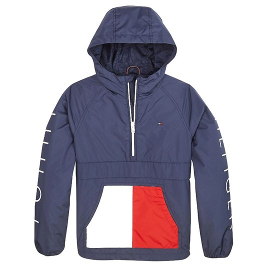 Tommy Hilfiger Colour-Blocked Recycled Jacket 3-8 Years
