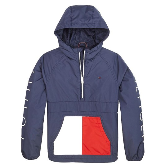 Tommy Hilfiger Colour-Blocked Recycled Jacket 10-16 Years