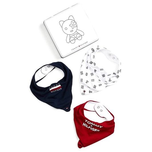 Tommy Hilfiger Baby Bibdana 3 Pack Giftbox