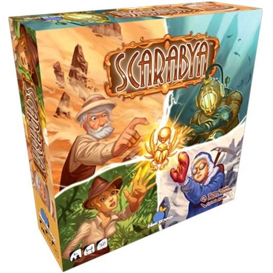 Blue Orange Games Scarabya Game