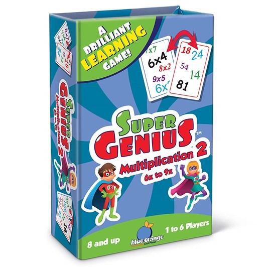 Blue Orange Games Super Genius Multiplication 2