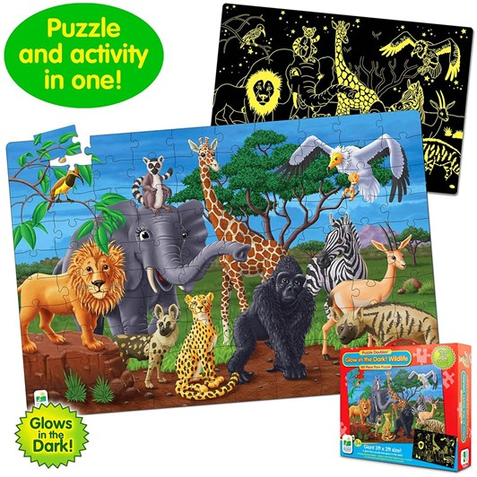 The Learning Journey Glow In The Dark Wildlife