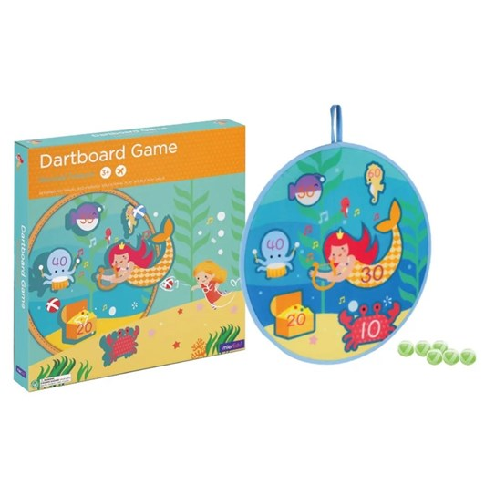 Mieredu Dartboard Game - Mermaid Treasure
