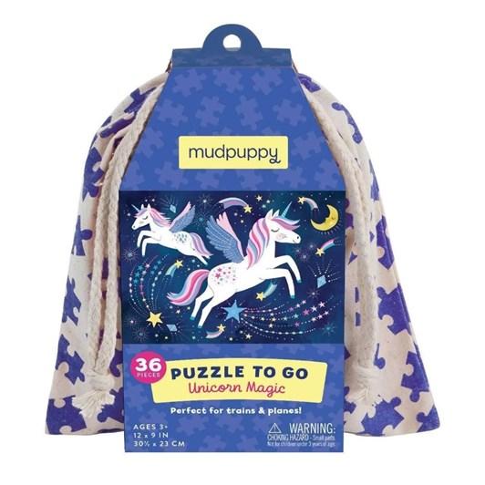 Mudpuppy Unicorn Magic Puzzle To Go