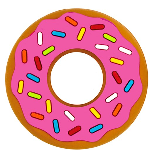 Silli Chews Silli Chews Pink Donut Teether