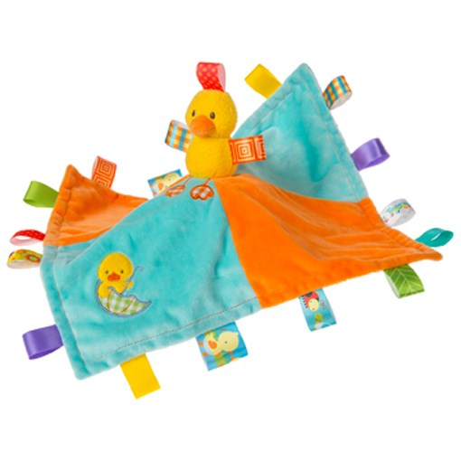 Lulujo Taggies Dipsy Duck Character Blanket