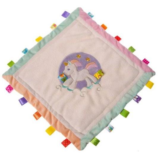 Lulujo Taggies Dreamsicle Unicorn Cozy Security Blanket