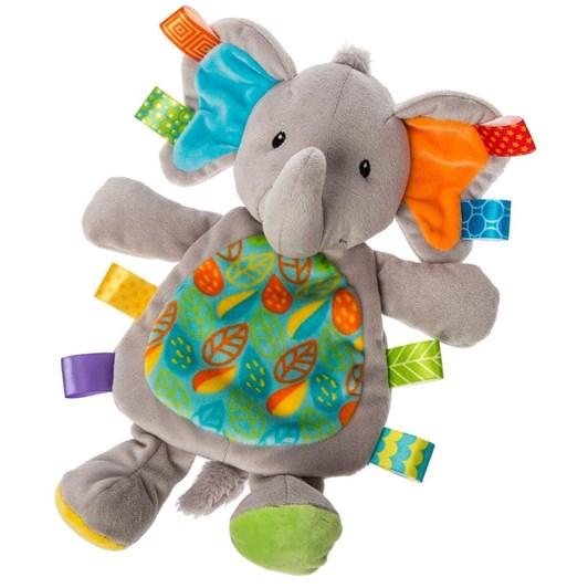 Lulujo Taggies Little Leaf Elephant Lovey