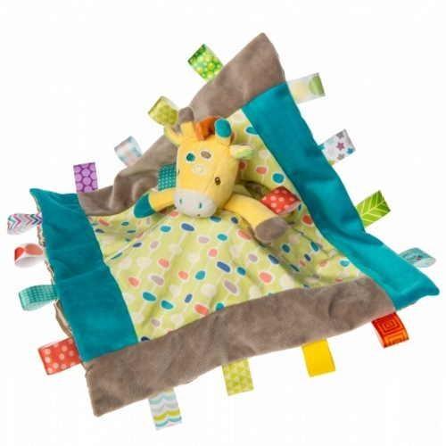 Lulujo Taggies Gumdrops Giraffe Character Blanket