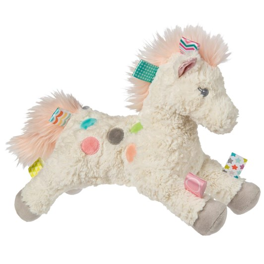 Lulujo Taggies Painted Pony Soft Toy
