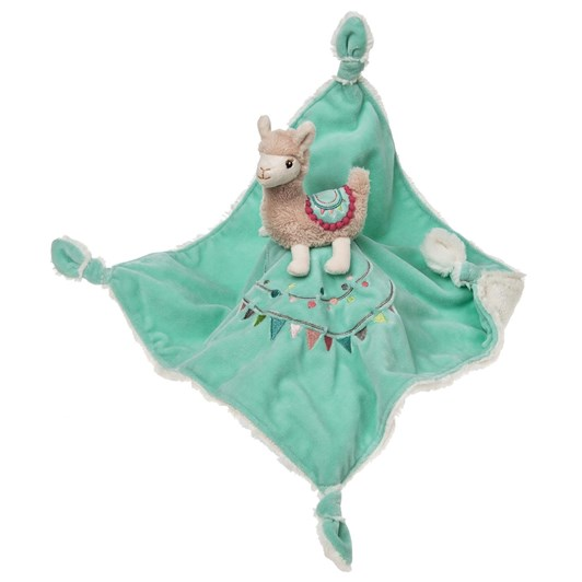 Lulujo Lily Llama Character Blanket