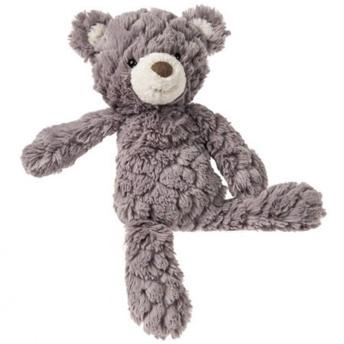 Lulujo Grey Putty Bear Small