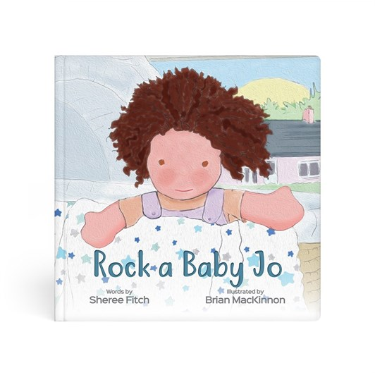 Lulujo Rock-A-Baby-Jo Book