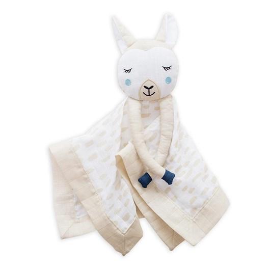 Lulujo Cotton Baby Lovies Llama