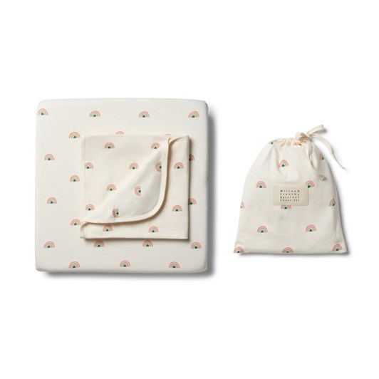 Wilson And Frenchy Organic Bassinet Sheet Set